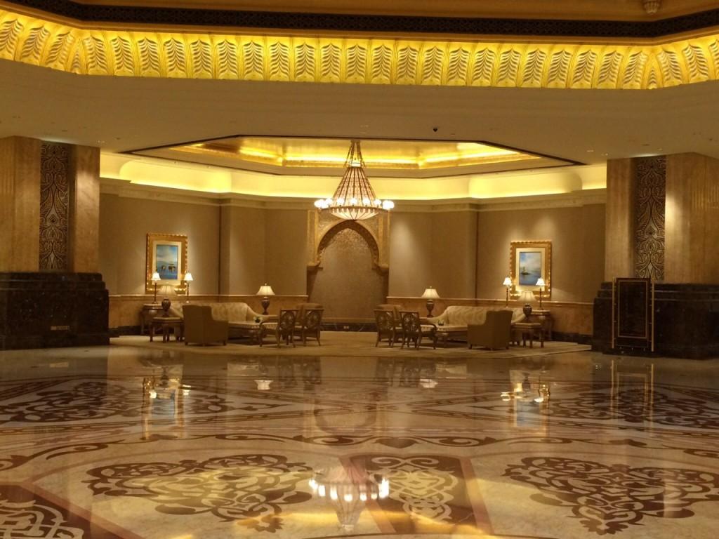 L'envoutant hôtel de Luxe Emirates Palace