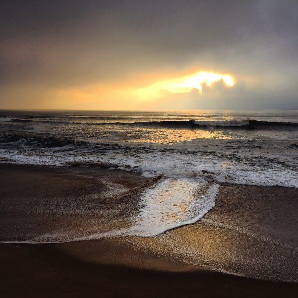 L'une des plages de Batz sur mer