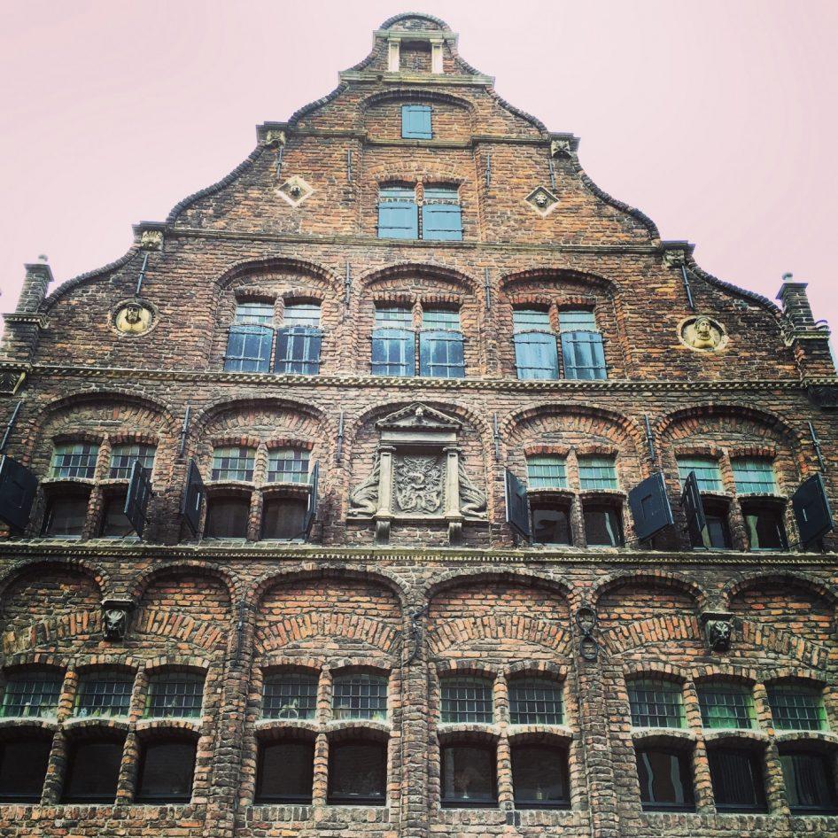 Une jolie façade en Hollande