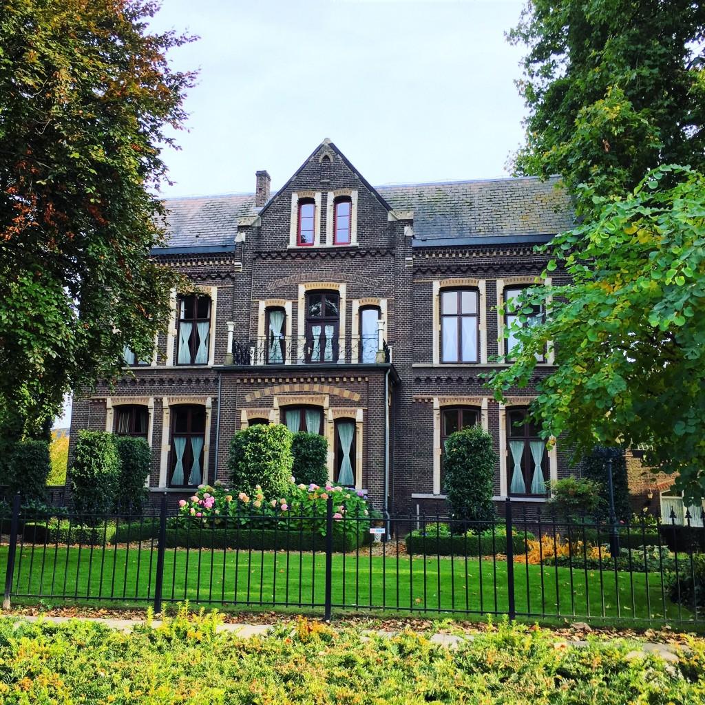 Un maison dans le plus pur style flamand