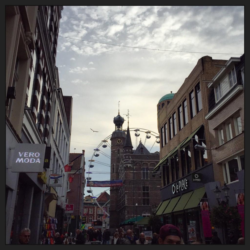 Le centre ville piéton de Venlo