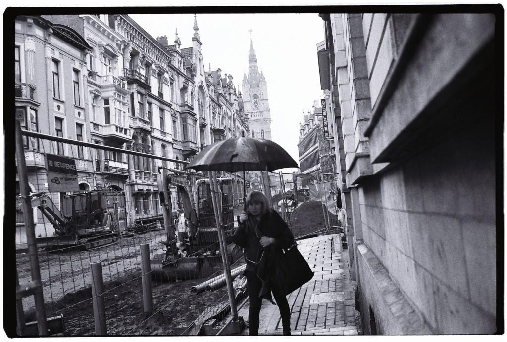 Gand sous la pluie
