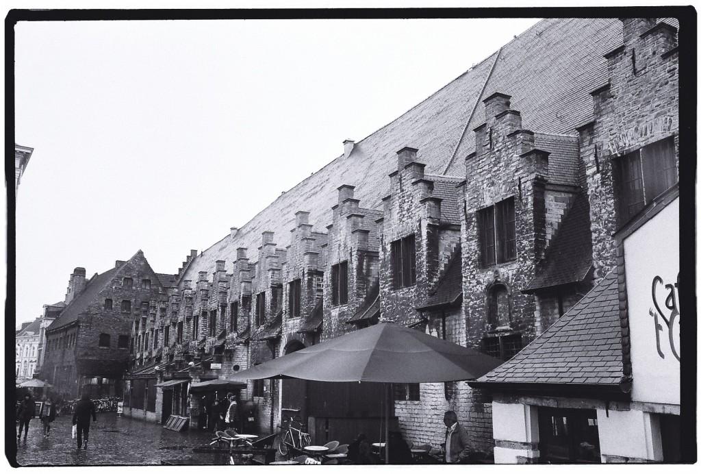 Le marché de la ville de Gand
