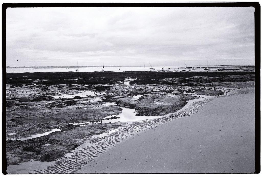 Vue depuis la plage du Pouliguen