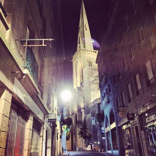 Saint-Malo la nuit