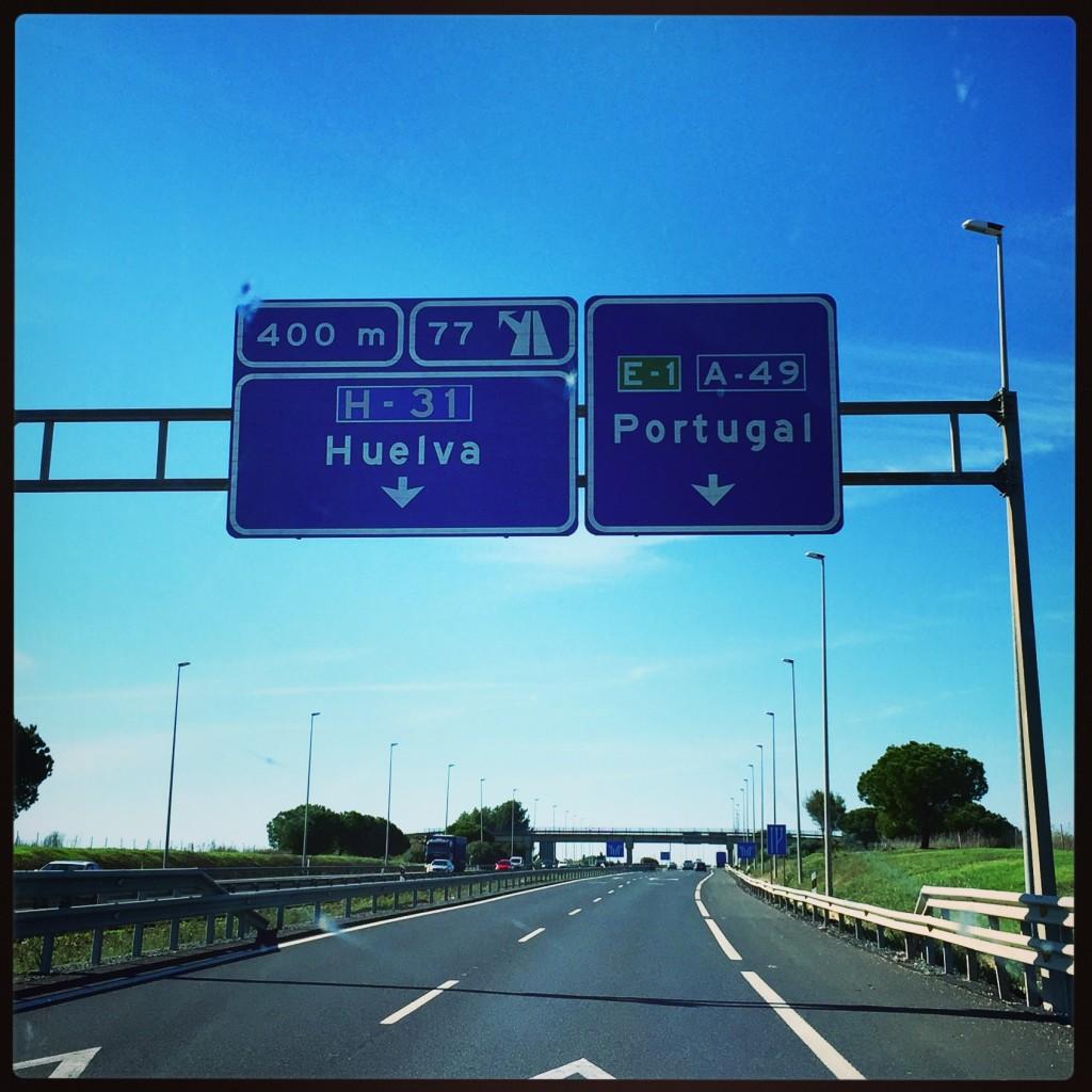 Direction Huelva