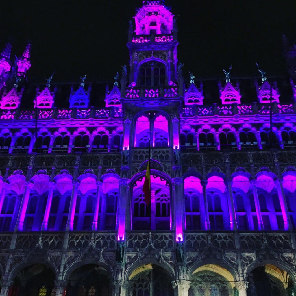 Bruxelles la nuit