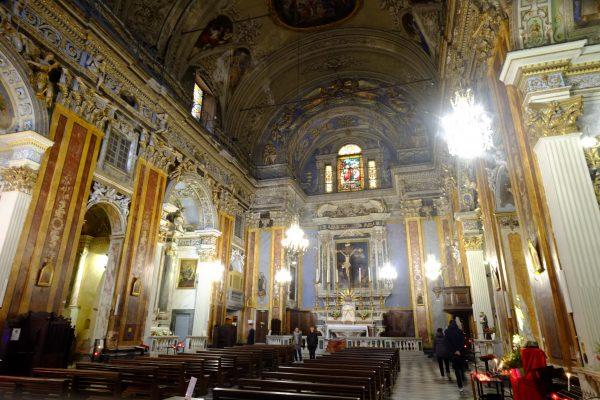 L'église Saint Jacques le Majeur de Nice