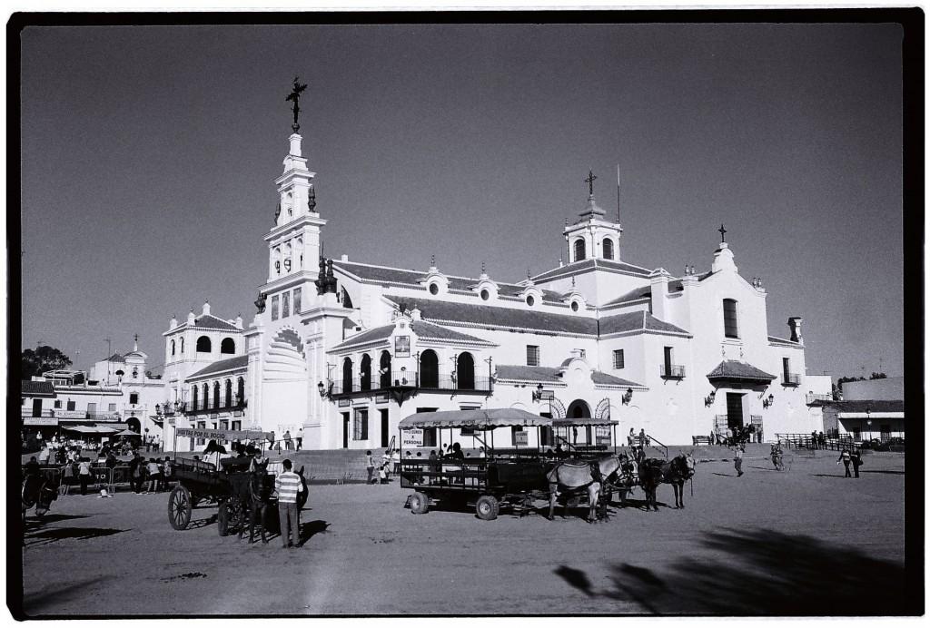L'église del Rocio, un lieu de pèlerinage espagnol