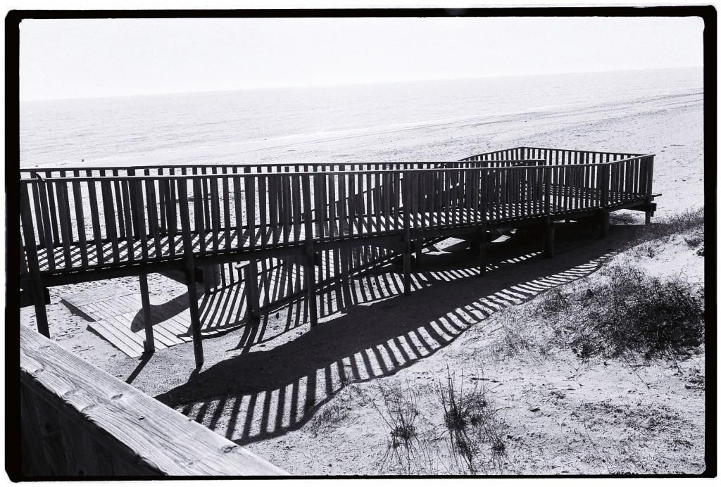 La plage d'Islantilla, Région de Huelva, Andalousie
