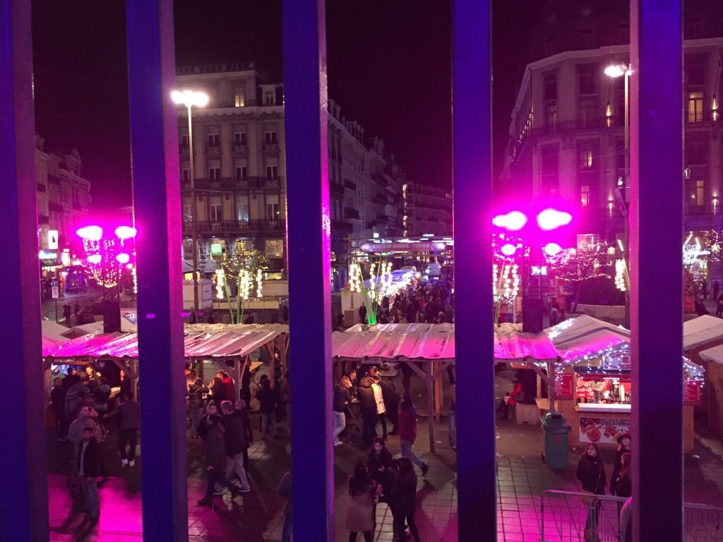 Marché de Noël place de la Bourse