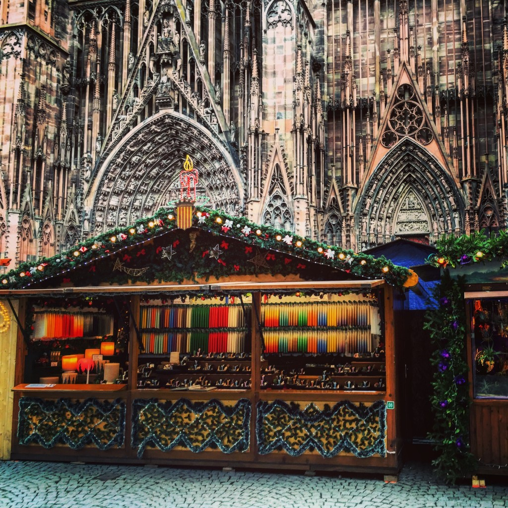 Strasbourg capitale du marché de Noël