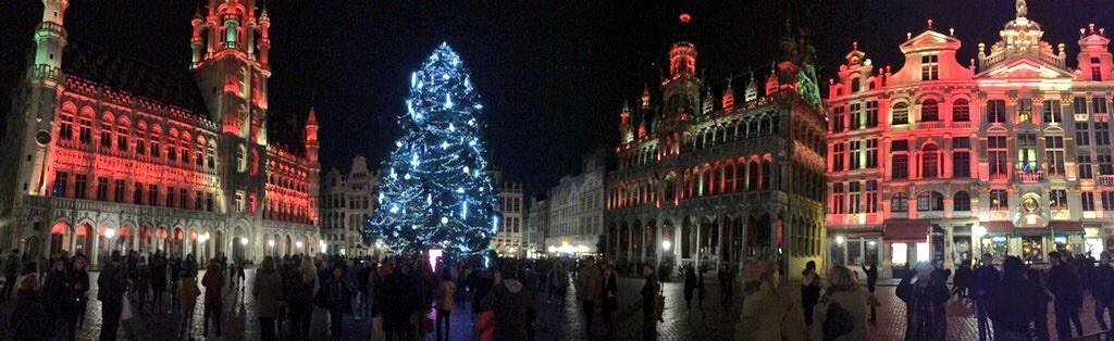 Panorama sur la Grand-place de Bruxelles