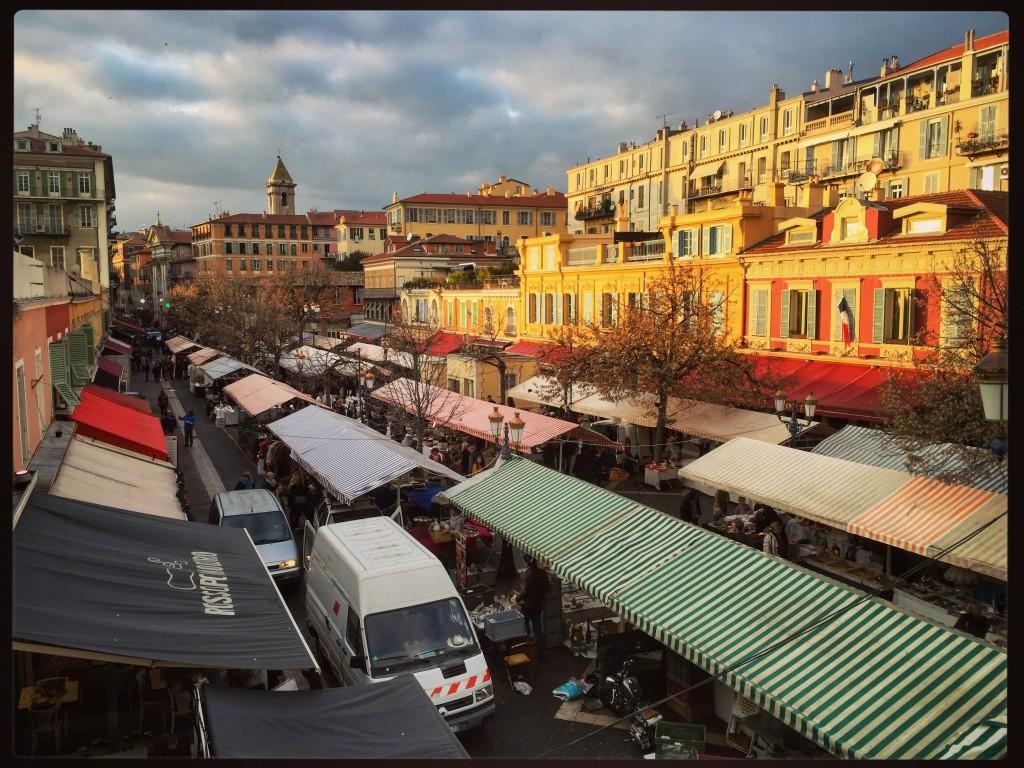 Le marché aux fleurs à Nice