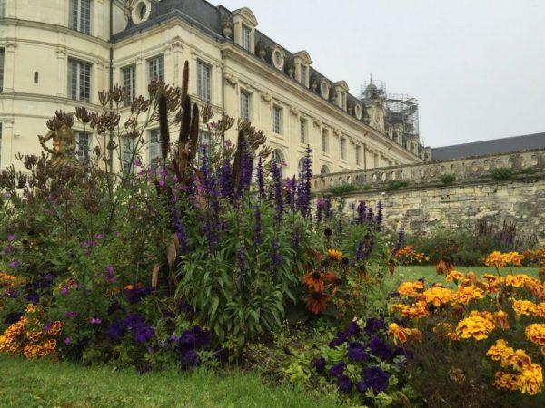 Dans les jardins de Valençay en automne