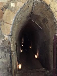 La découverte d'une salle dont la construction remonterait à quelques siècles avant la construction de 1540