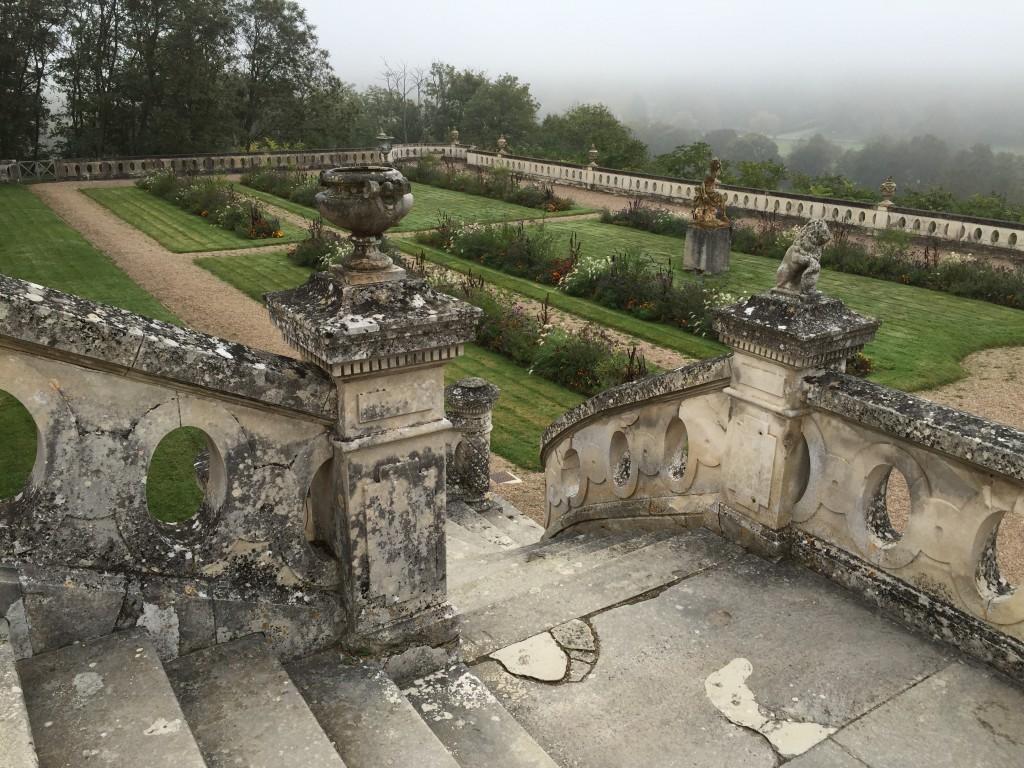 Les jardins du château