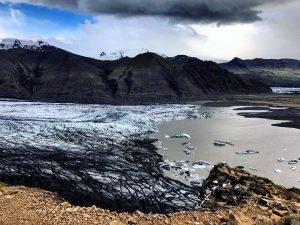 Un splendide glacier en Islande