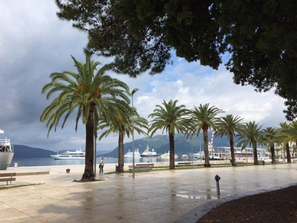 Tivat, sur la côte adriatique du Monténégro