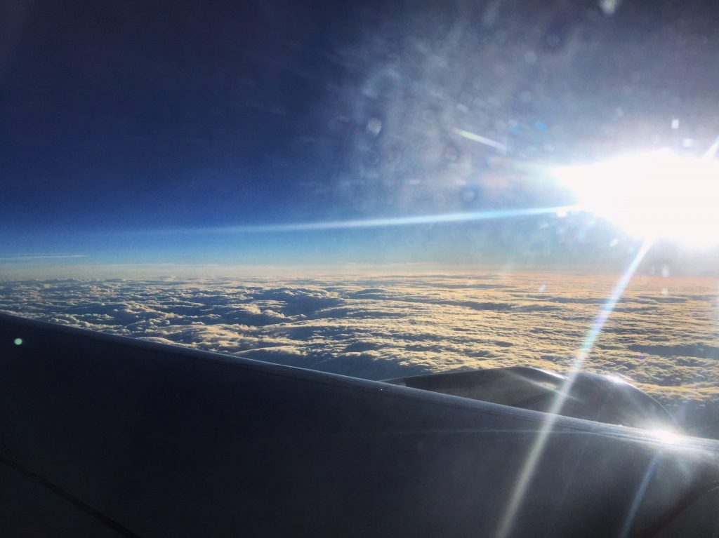 Un vol vers Rome en août 2016