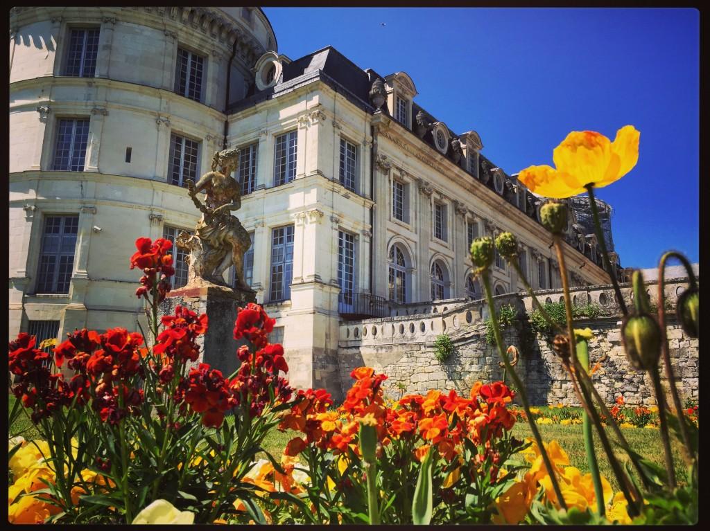 Valençay le château un  château parmi l'un des plus élégants