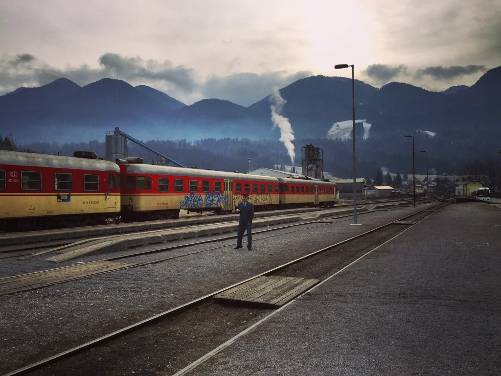 La gare de Bohinjska Bistrica