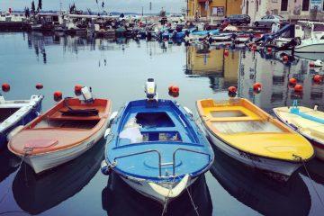 Le petit port bucolique de Piran