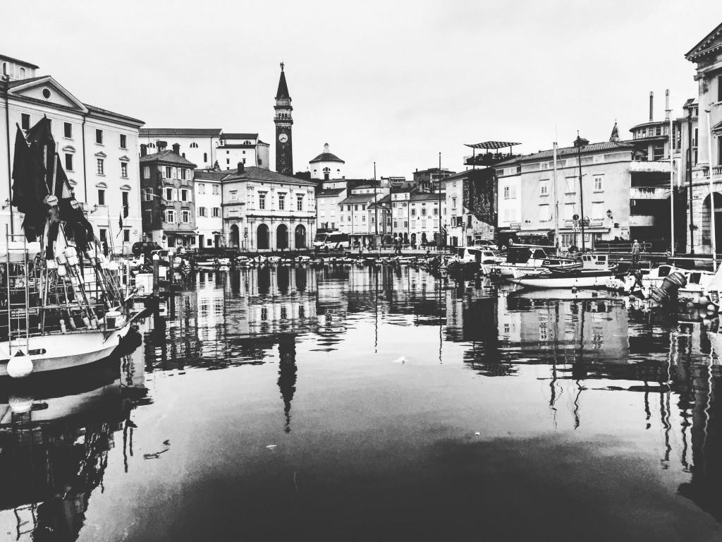 Piran une ville aux accents vénitiens