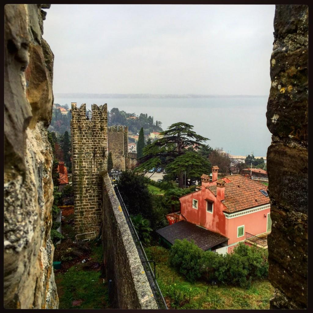 Piran une ville fortifiée