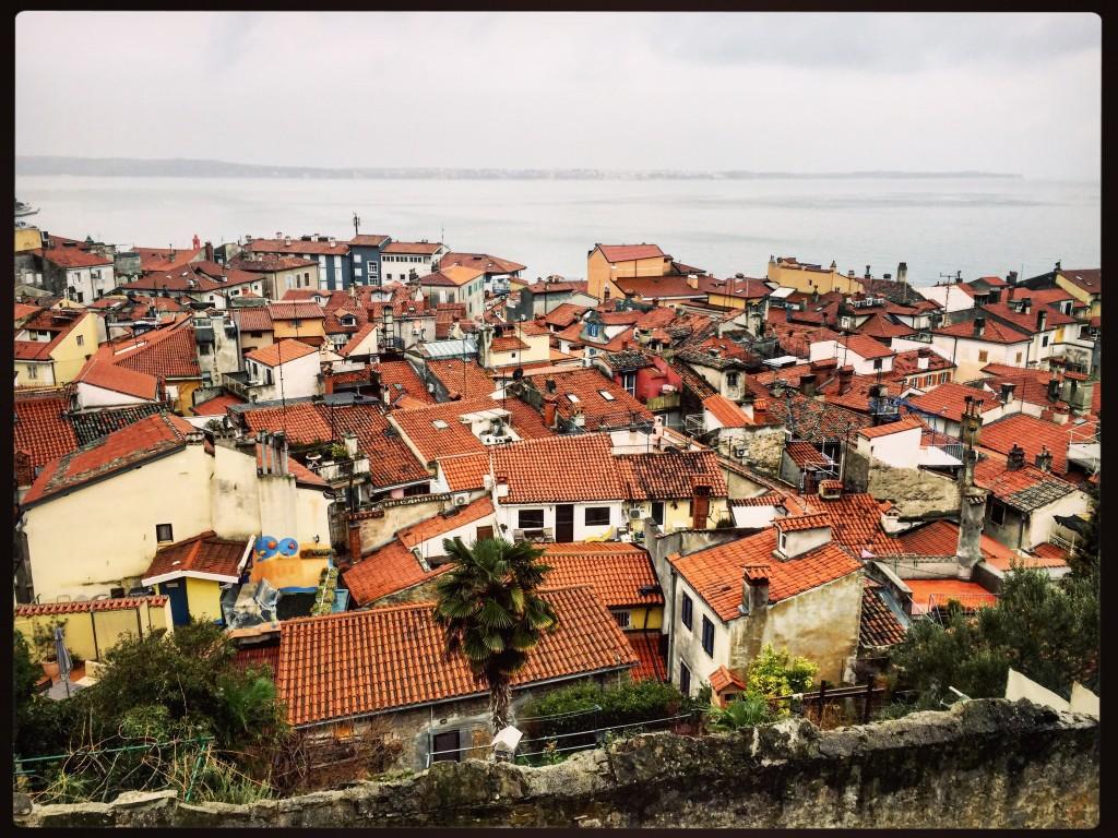 La ville vue depuis l'église