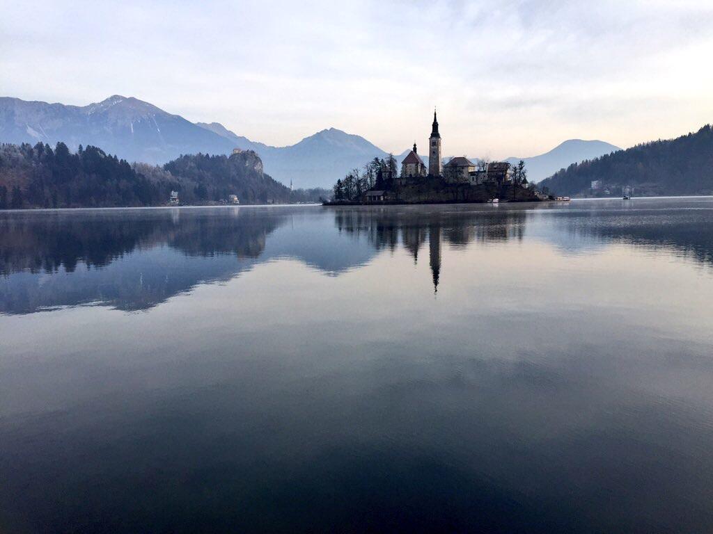 L'île du lac de Bled