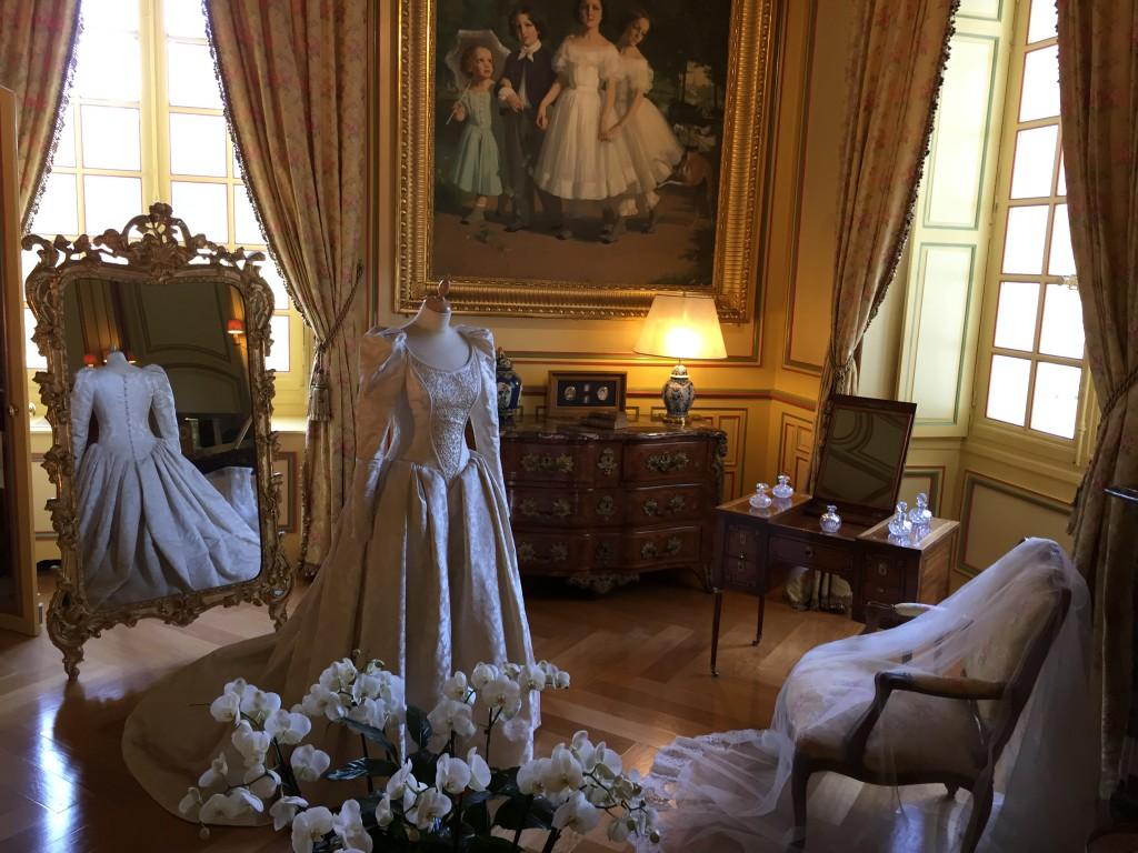 La robe de mariée de la Marquise de Cheverny