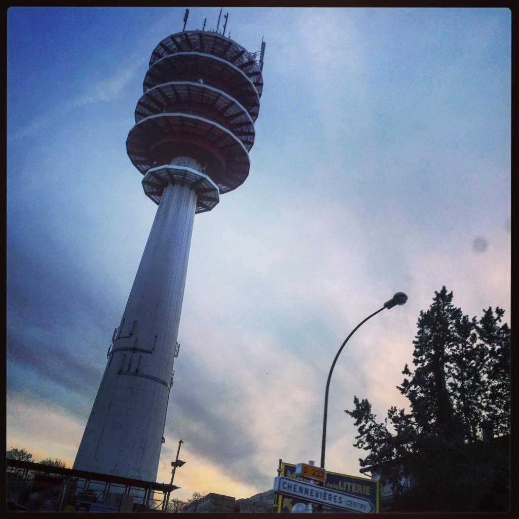 La tour de Chennevières