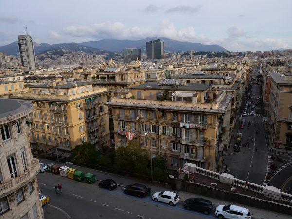 Les toits de Gênes