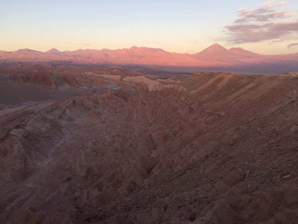 La vallée de la mort, Atacama, Chili