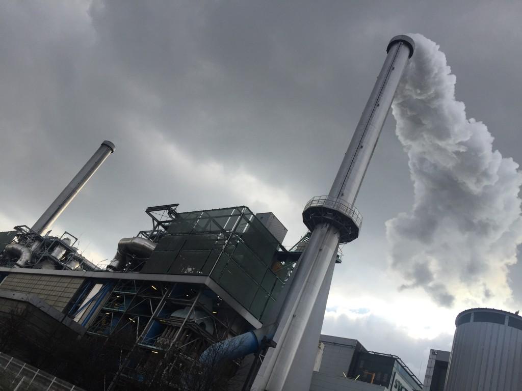 Une usine d'incinération aux portes de Paris...