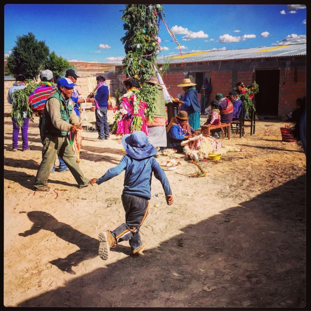 Fête de l'eau dans le Sud de la Bolivie