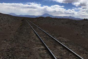 le chemin de rail bolivien
