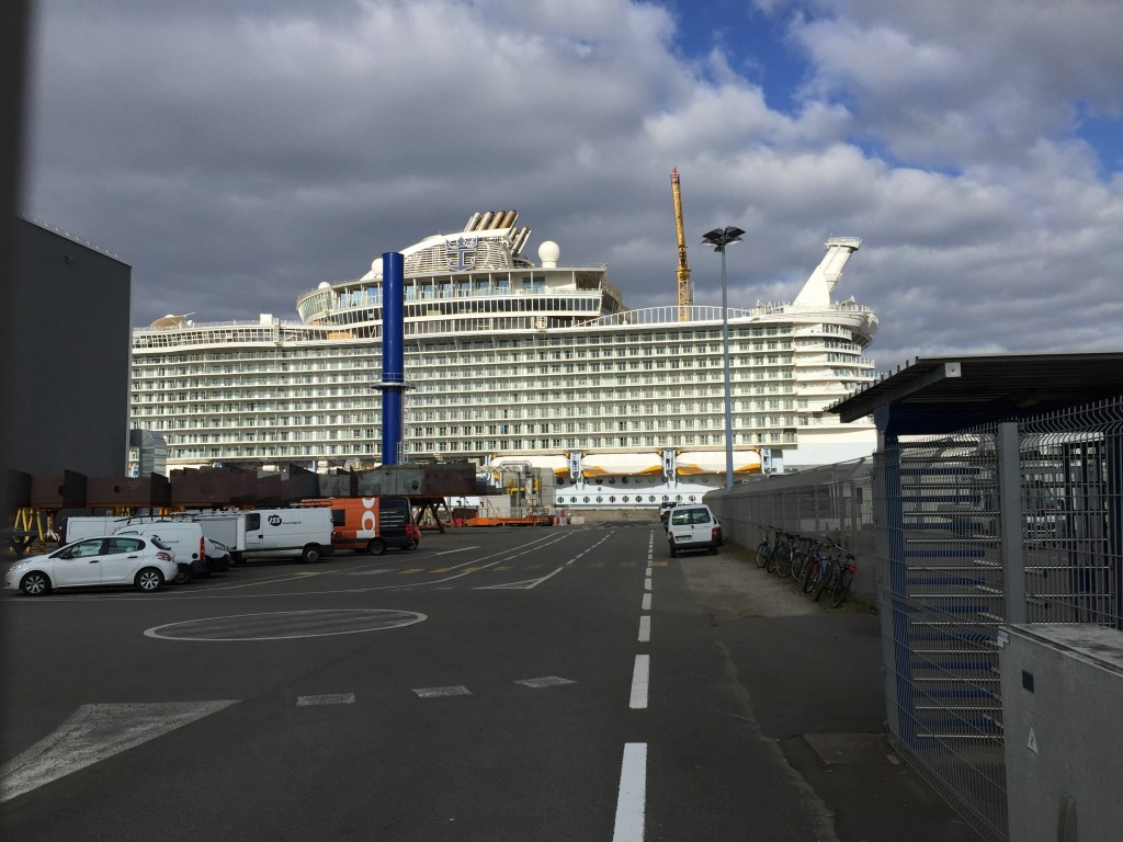 Harmony of the seas, le plus grand paquebot du monde