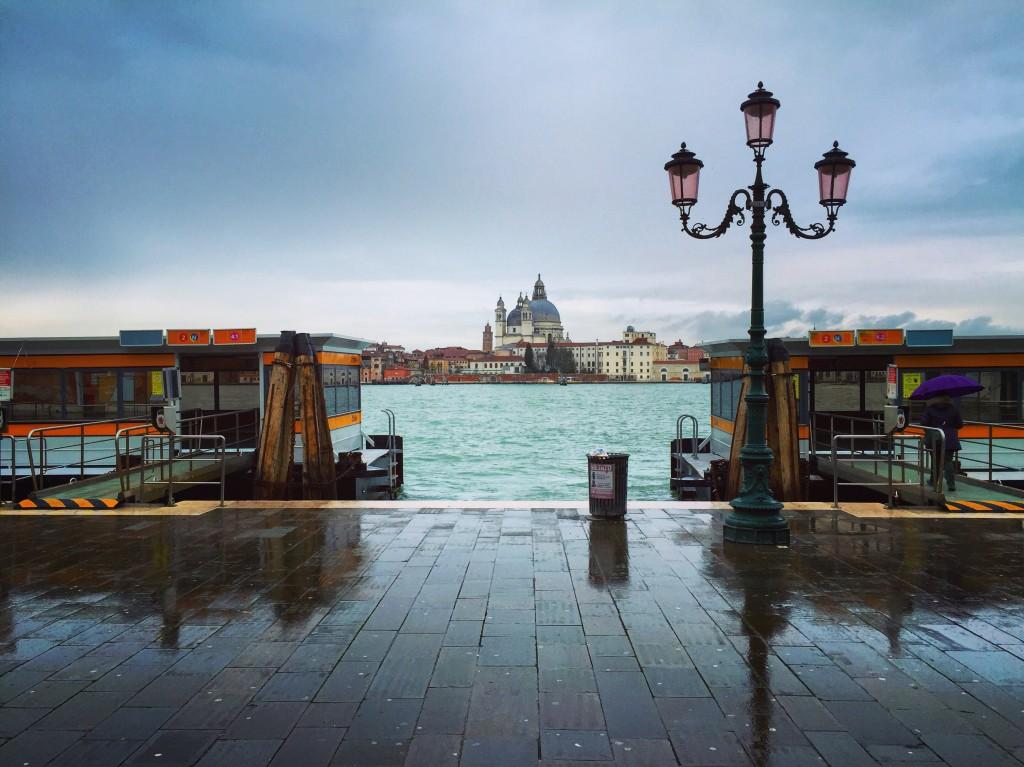 Station Zattere lors d'une escale à Venise.