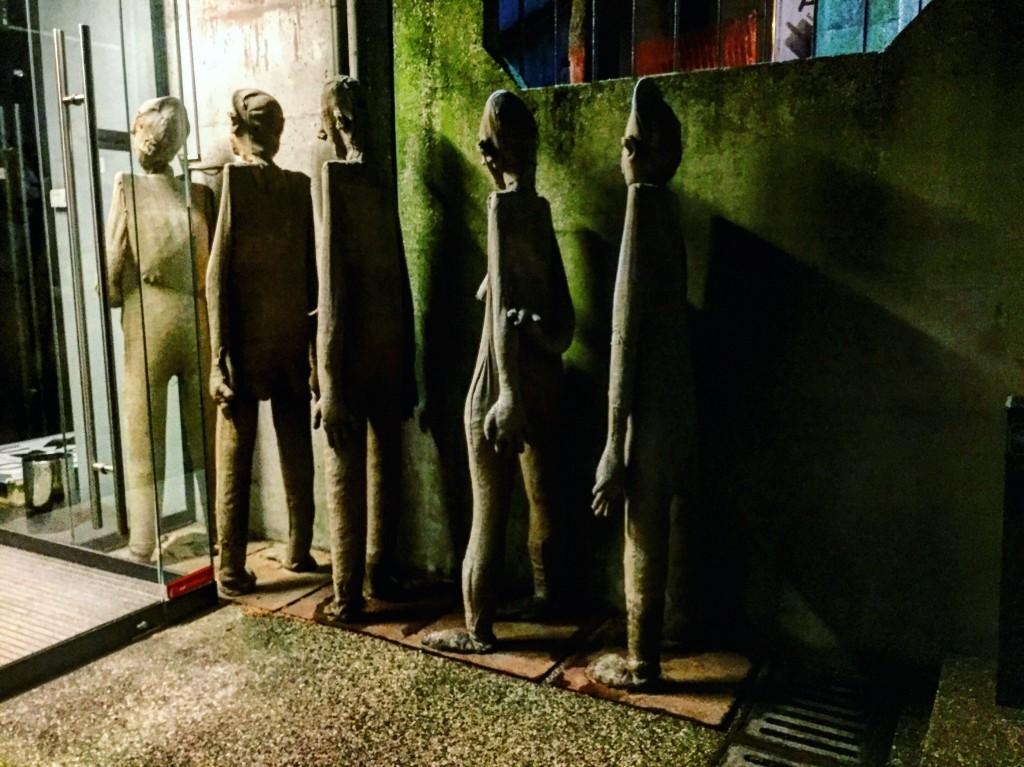 10. Une galerie la nuit à Ljubljana