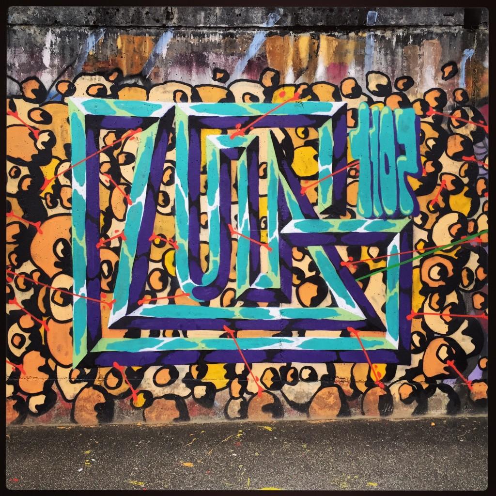 15. Street art Lju