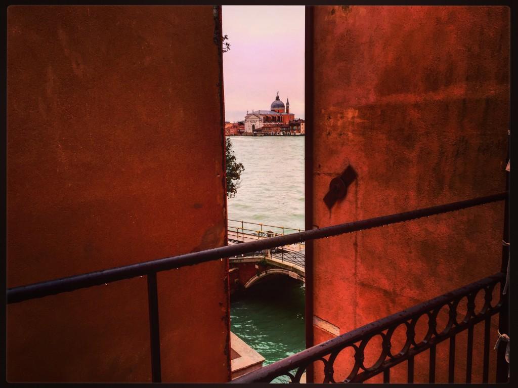 Vue depuis mon balcon à Venise