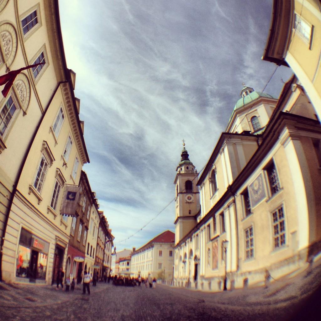 L'été indien à Ljubljana