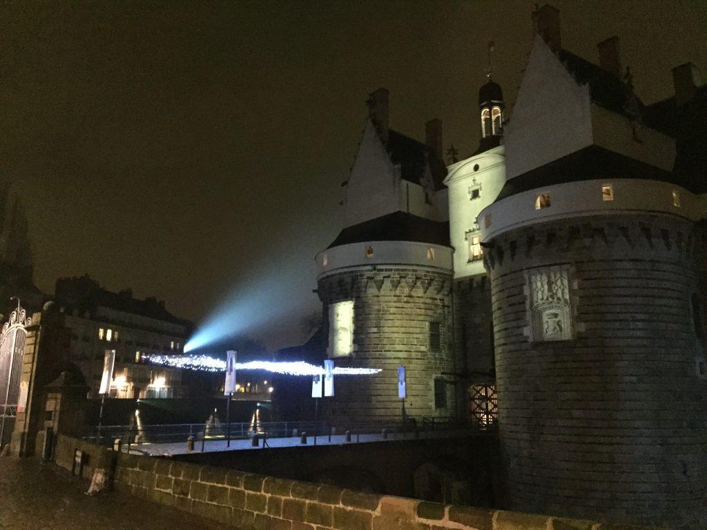 Le château de la Duchesse Anne à Nantes
