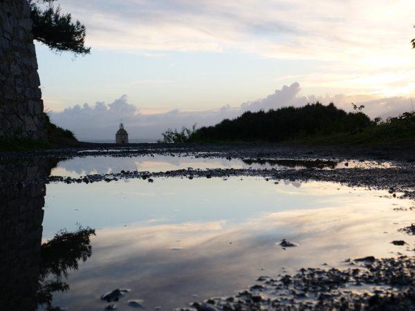 Saint-Tropez au crépuscule
