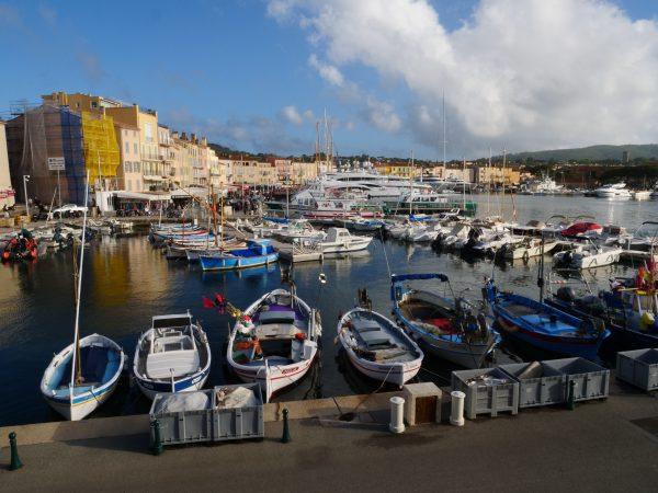 Le petit port de pêcheurs de Saint-Tropez