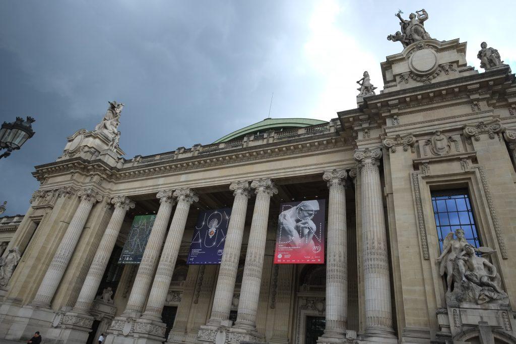 Les galeries nationales du Grand Palais à Paris