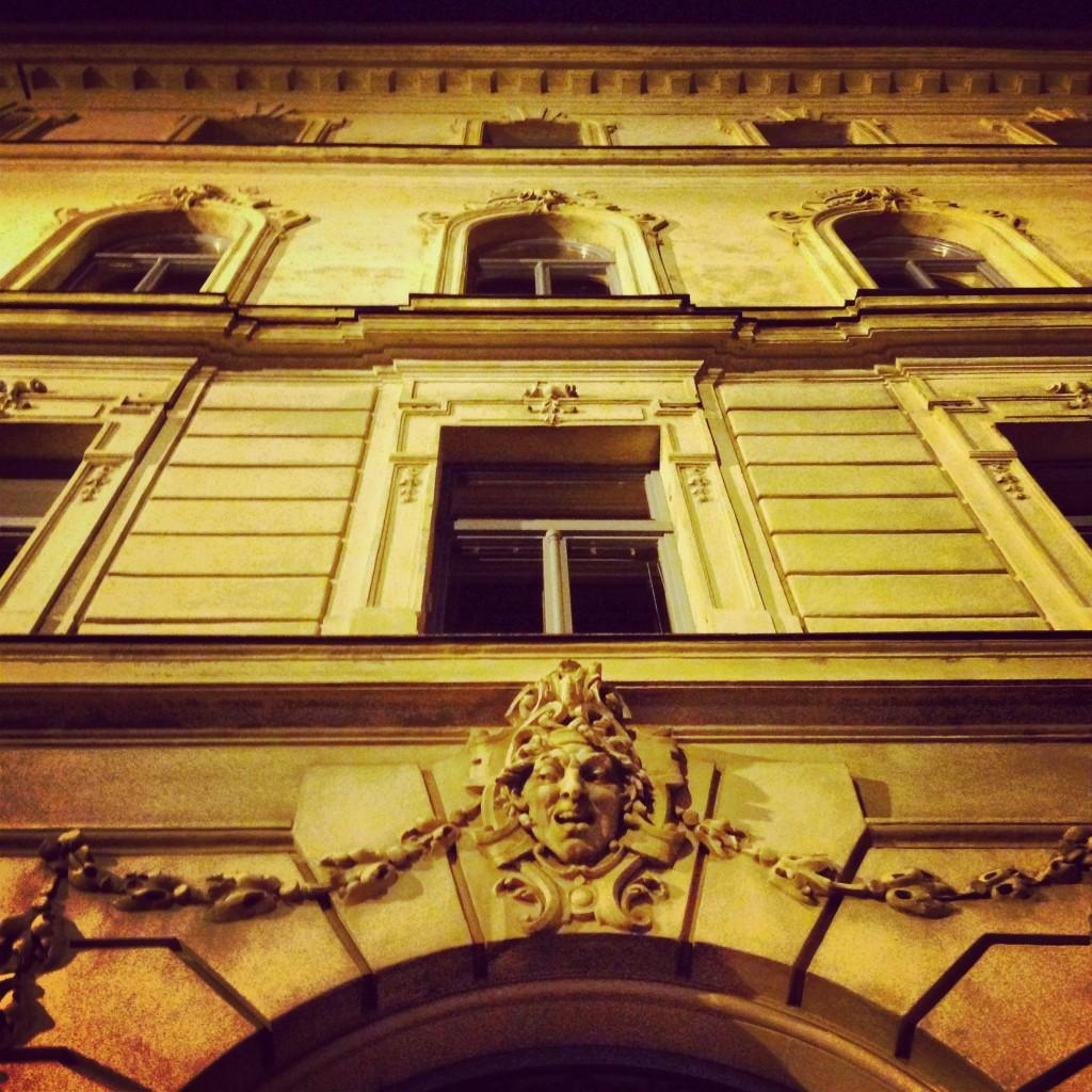 29. Une façade à Ljubljana