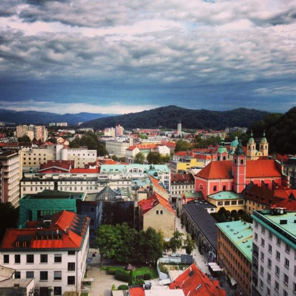 26. Une ville toute en couleur, j'aime Ljubljana